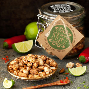 Sweet Chilli And Lime Peanuts Jar