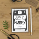 Personalised 1st Mother's Day Card