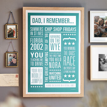 Personalised Memories Print