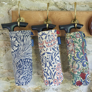 William Morris Folding Walking Stick Bag