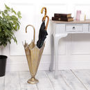 Luxury Gold Effect Umbrella Holder