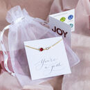 Mother And Child Birthstone Bracelet
