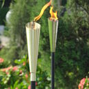 Garden Oil Torch Copper Or Silver