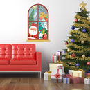 Christmas Window Childrens Wall Stickers