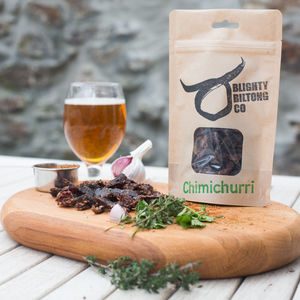 Welsh Wagyu Beef Biltong Chimichurri Set Of Three