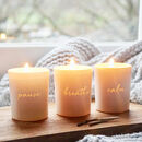 Unplugged Votive Scented Candle Set