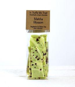 In Truffle We Trust Matcha Tea Slab
