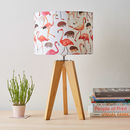 Flamingo And Hedgehog Lampshade