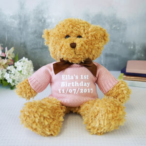 Personalised Teddy Bear Gift - summer sale