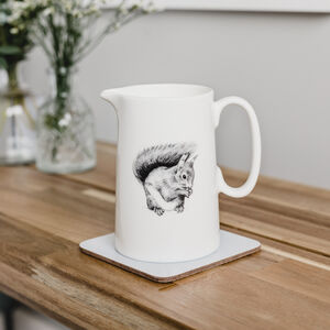 Red Squirrel Jug