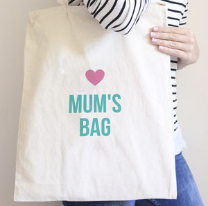 Mum's Bag Personalised Tote Bag