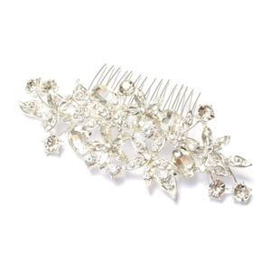 Curvy Crystal Hair Comb - women's jewellery