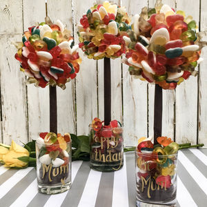 Personalised Haribo Edible Sweet Tree - personalised gifts for her