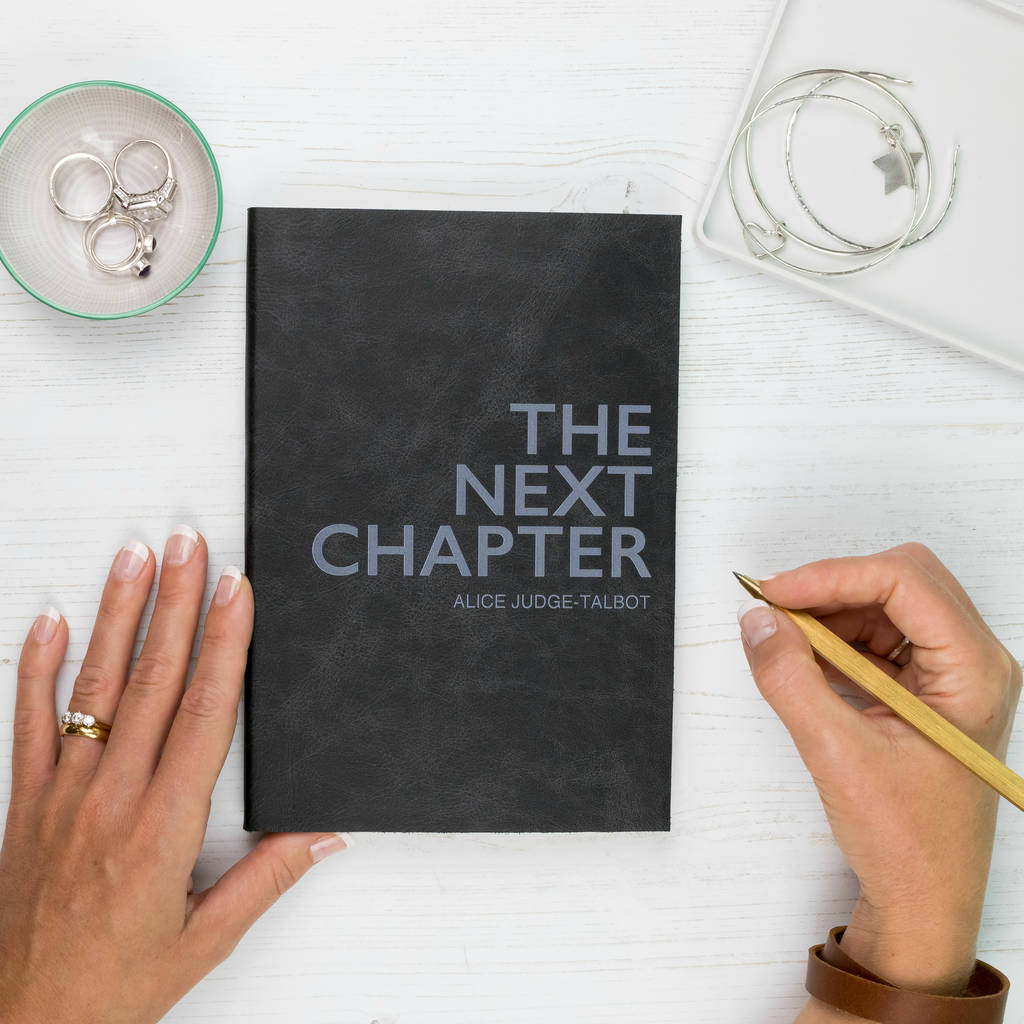 2fb4d522b7b6 2019 diary. leather diary. personalised next chapter by the leather ...