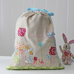 Personalised Rabbit Laundry Bag - laundry bags & baskets