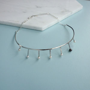 Pearl Choker - necklaces & pendants