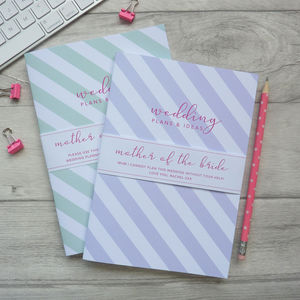 Mother Of The Bride Notebook - notebooks & journals