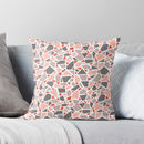 Pink And Grey Terrazzo Cushion