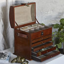 Leather Jewellery Organiser