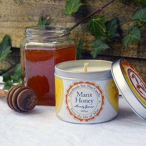 Manx Honey Soy Wax Candle