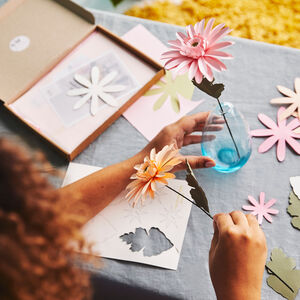 Paper Gerbera Daisy Craft Kit