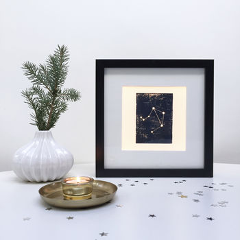 Personalised Libra Constellation Light Box