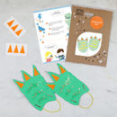 Make Your Own Dinosaur Feet Kit
