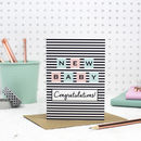 New Baby Card 'Congratulations'