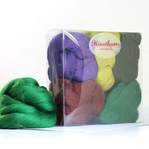 Woodland Wool Bundle - sewing & knitting
