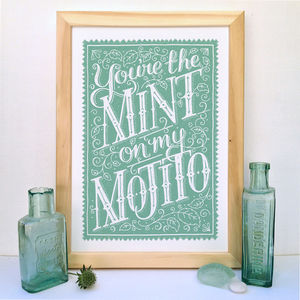 Mojito Cocktail Print - new in prints & art