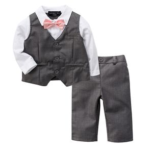 Baby Boy Wedding Christening 2pc Outfit