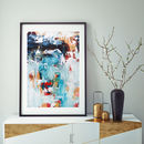 Framed Abstract Art Home Decor Art Print