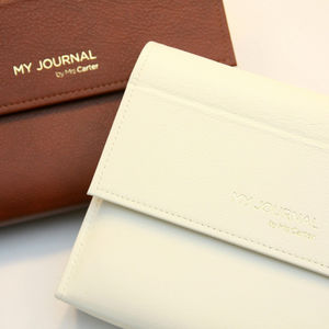 Personalised Luxury Leather Journal - gifts for mothers