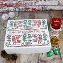 Christmas Eve Box Personalised With Scandi Design
