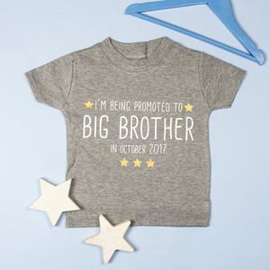 Promotion To Big Brother/Sister T Shirt - clothing
