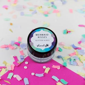 'Mermaid Kisses' Handmade Glitter Lip Gloss - gifts for her