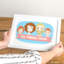 Personalised Family Print Portrait