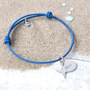 Personalised Fish Bracelet - children's jewellery