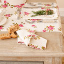 Helmsley Blush Floral Napkin And Table Runner Selection