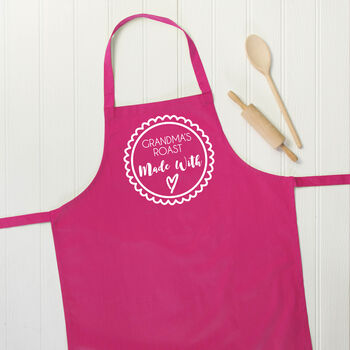 Made With Love Personalised Apron