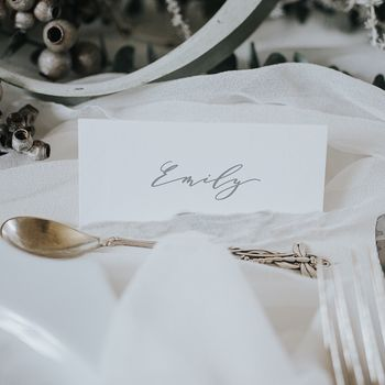 Emily Place Cards