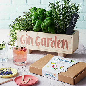 Gin Botanical Cocktail Garden Kit - best mother's day gifts