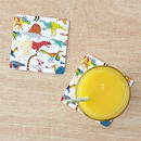 Dinosaurs Birch Wood Drinks Coaster Set Of Two