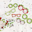 Christmas Sprout Novelty Party Glasses