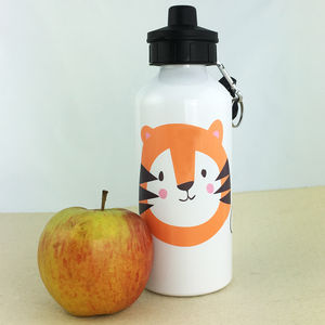 Personalised Water Bottle With Tiger - new in garden