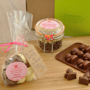 Christmas Angel Chocs Choc Mould - make your own kits
