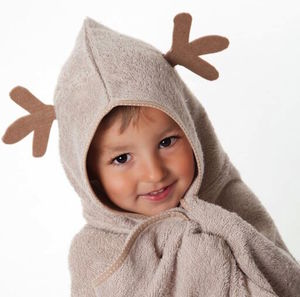 Cuddledeer Bamboo Toddler Towel - bed, bath & table linen