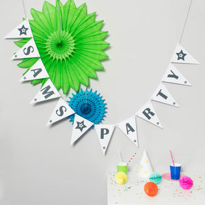 Bespoke Personalised Bunting - children's room accessories