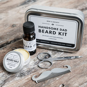 Handsome Dad Beard Grooming Kit