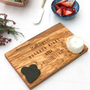 Personalised '1st Date' Cheese Board